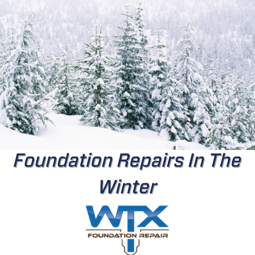 FOUNDATION REPAIR DURING THE WINTER